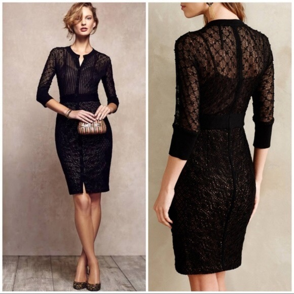 c1e3eed37dd2 Anthropologie Dresses | Nwt Byron Lars Mona Lace Dress Sz 6 | Poshmark